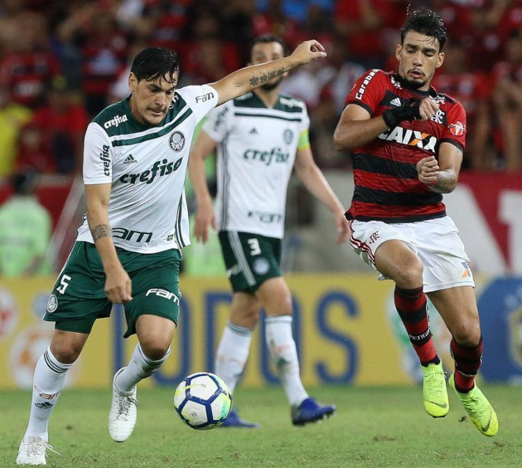Apesar da desvantagem de dois gols, as chances do Palmeiras hoje são razoáveis - Foto: Cesar Greco | EC Palmeiras | Flickr