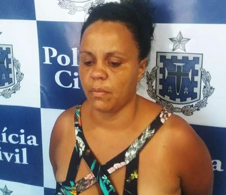 Laytyane Laytynher Costa foi presa em flagrante em Canavieiras