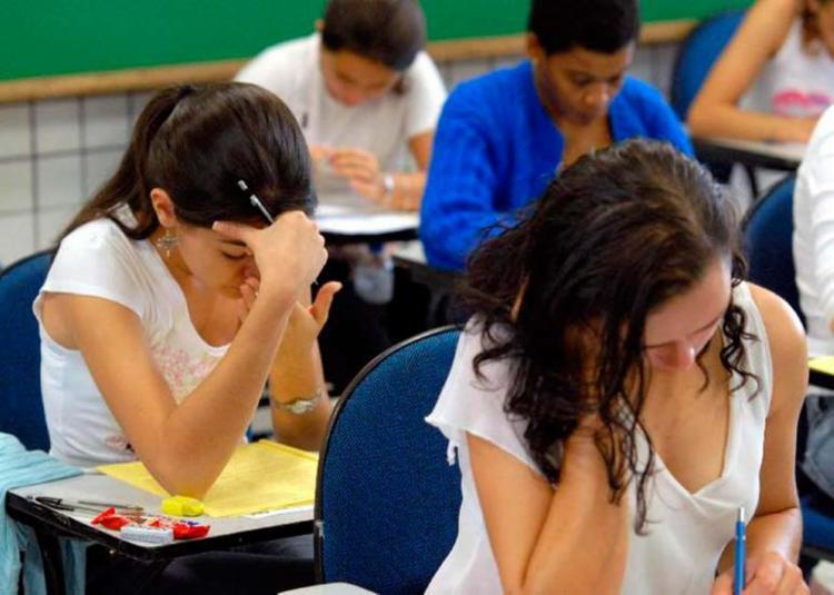 Estudantes fazem prova do Enem, na primeira etapa, no dia 4 de novembro - Foto: Wilson Dias   Agência Brasil