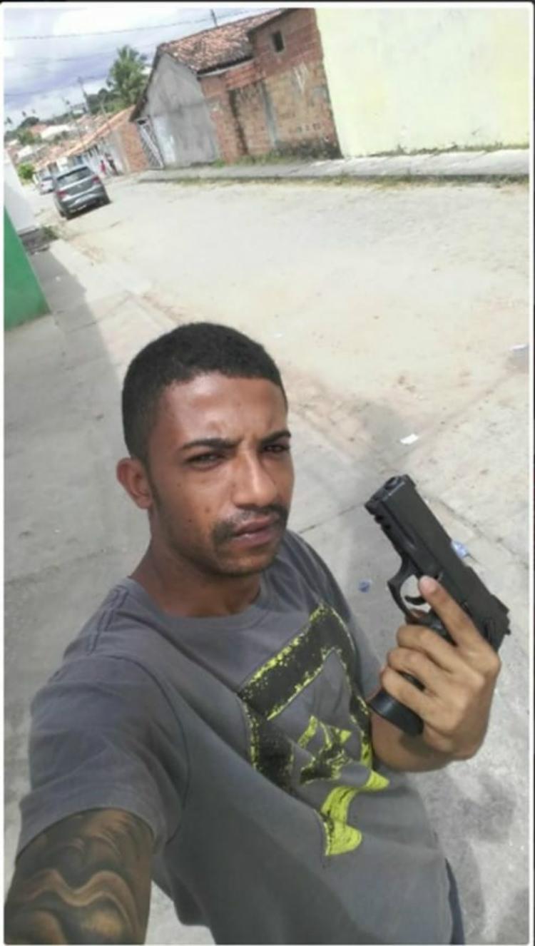Gleidson era um dos suspeitos mais procurados na cidade - Foto: Divulgação | SSP-BA