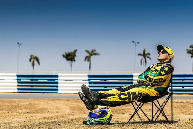 Além de acertar sua entrada na Fórmula E, ele disputou duas etapas da Stock Car - Foto: Bruno Terena   RF1