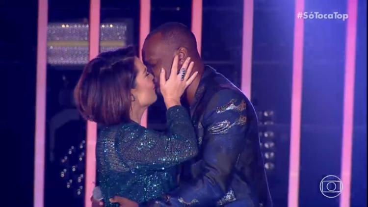 A atriz pretende se dedicar à família em 2019, ao lado do cantor Thiaguinho - Foto: Reprodução | TV Globo