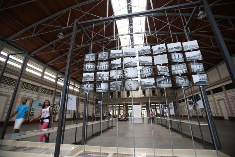 Exposição Nós Chegamos Antes da Luz do Sol, parte do projeto Fototrem