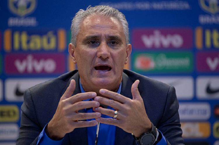 O treinador teve conversa com jogadores do time - Foto: Afp Photo| Mauro Pimentel
