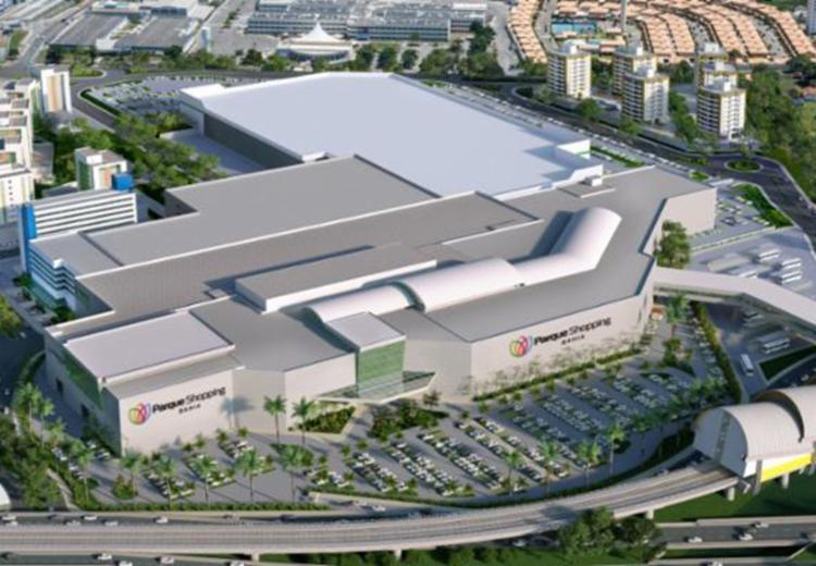 O Parque Shopping Bahia – complexo multiuso de 260 mil m² – é o maior em implantação no Brasil no momento