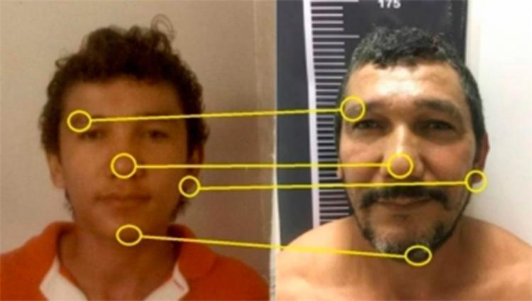 Gilson Pegado da Silva usava documento falso e só foi detido graças ao uso da técnica de reconhecimento facial - Foto: Divulgação l Ministério Público do Rio Grande do Norte