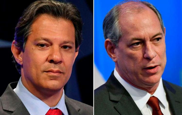 Presidenciável espera apoio público de Ciro Gomes - Foto: Nelson Almeida   AFP