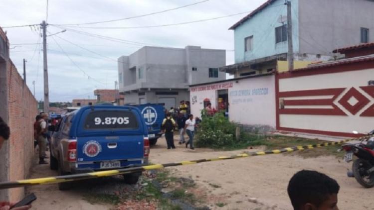 O crime aconteceu na rua Genário Pinheiro Santiago - Foto: Reprodução | Medeiros Dia Dia