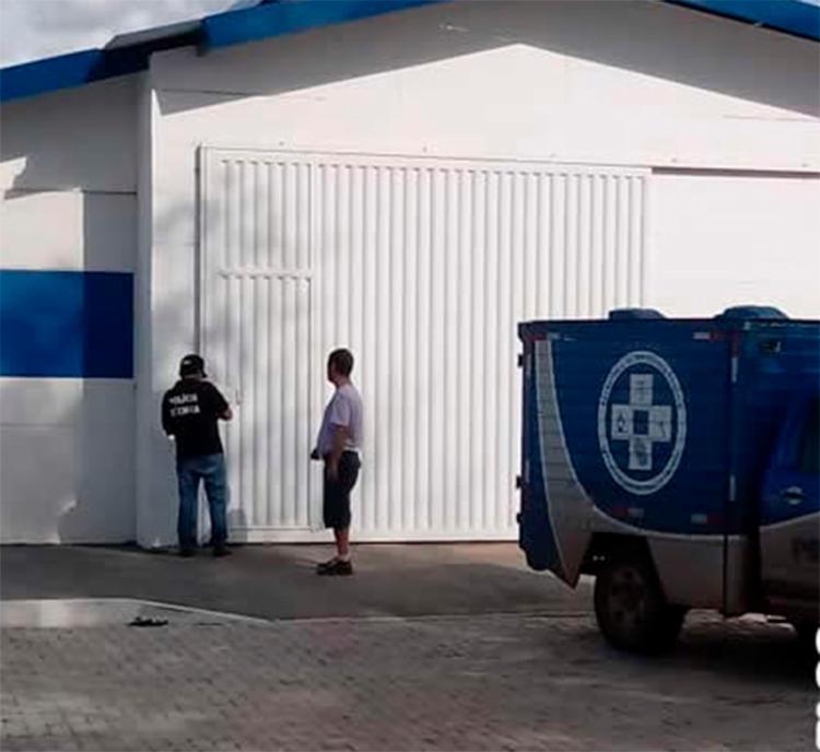 O crime aconteceu em frente a casa da vitima no residencial Boa Sorte em Barreiras - Foto: Reprodução | blog do Sigi Vilares