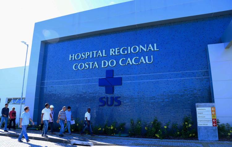 Jovem morreu no Hospital Regional Costa do Cacau - Foto: Clodoaldo Ribeiro | Divulgação