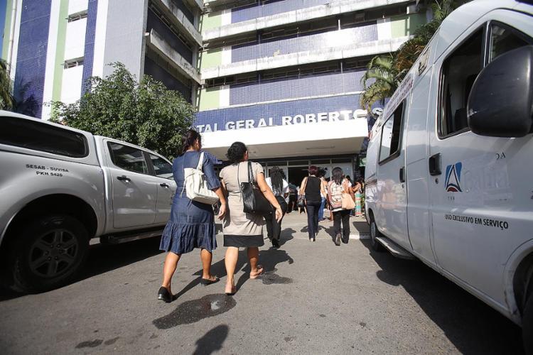 Hospital Geral Roberto Santos vai oferecer sessões de reiki, shiatsu, do-in, reflexologia e ventosaterapia - Foto: Luciano Carcará | Ag. A Tarde