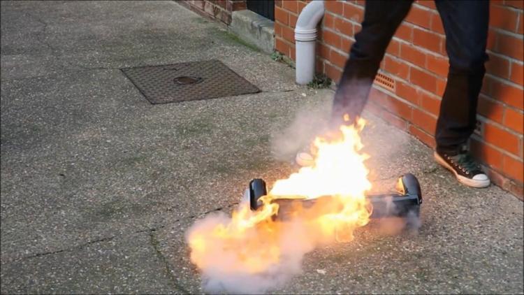 As baterias têm risco de incêndio, alerta a Comissão de Segurança de Produtos de Consumo - Foto: Reprodução | TV Globo