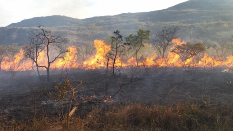 O fogo pode ser utilizado somente sob autorização de um órgão responsável - Foto: Divulgação | CBMBA