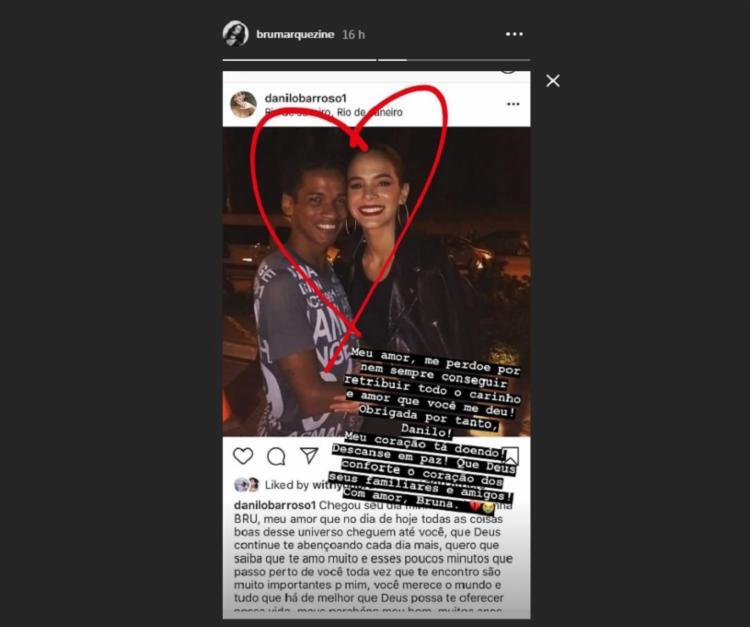 Danilo Barroso acompanhava a carreira da atriz desde 2015 - Foto: Reprodução   Instagram