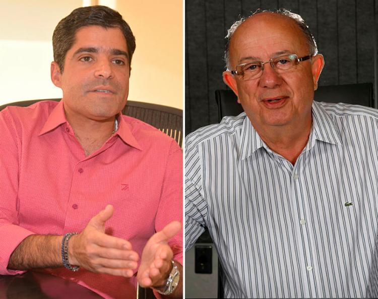 ACM Neto se manifestou contra declaração de José Ronaldo em apoio a Bolsonaro - Foto: Shirley Stolze e Margarida Neide   Ag. A TARDE