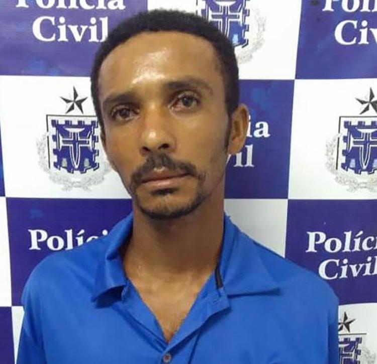 Gilvan é suspeito de tentar matar o próprio pai após ser cobrado de um empréstimo - Foto: Divulgação | Polícia Civil