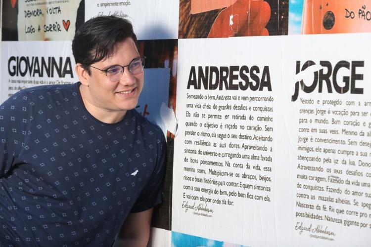 Edgard Abbehusen vive em Muritiba e tem 480 mil seguidores - Foto: Luciano Carcará / Ag. A TARDE