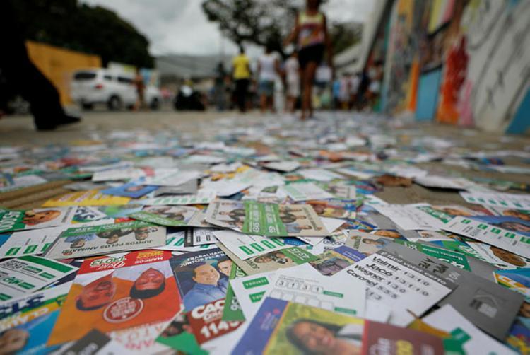 No entanto, volume foi 34,62% menor do registrado nas eleições de 2016 - Foto: Joá Souza | Ag. A TARDE