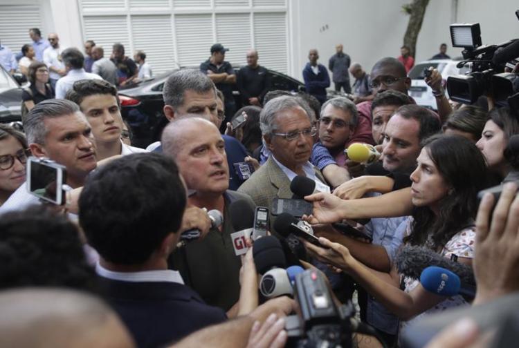 Onyx Lorenzoni, próximo chefe da Casa Civil, diz que serão de 15 a 16 pastas - Foto: Mauro Pimentel l AFP