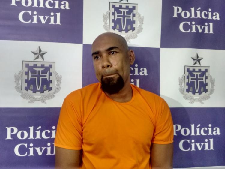 Paulos Sérgio foi apresentado no Departamento de Homicídios e Proteção á Pessoa