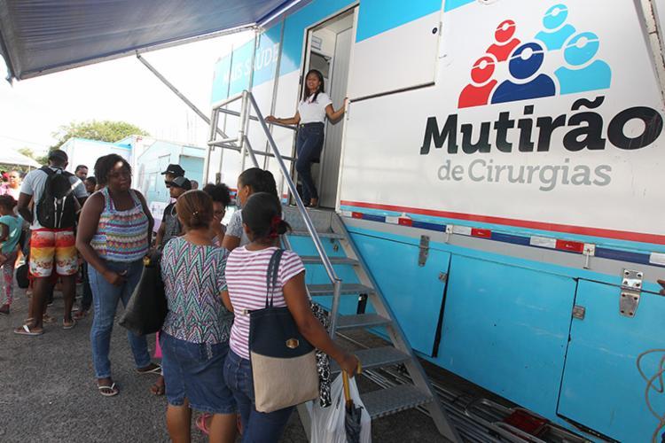 A ação oferece 200 atendimentos por dia entre as 7h e 18h na unidade móvel - Foto: Divulgação