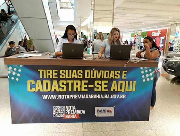 O doador ainda concorre a prêmios em dinheiro, por meio de sorteios realizados pela Secretaria da Fazenda - Foto: Divulgação l Ascom