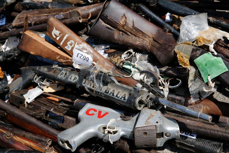 Objetivo da ação é evitar a compra e a venda de armamentos ilegais no país - Foto: Tânia Rego | Agência Brasil