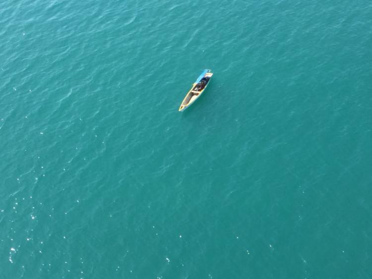 Barcos estava à deriva e foi localizado na Ponta de Nossa Senhora - Foto: Divulgação | SSP-BA