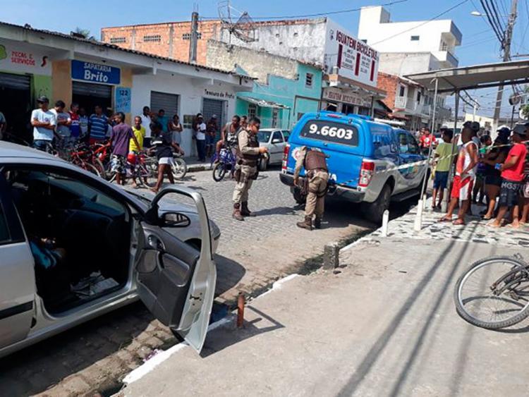 A polícia ainda não tem informações sobre a autoria e a motivação do crime - Foto: Reprodução | Foto Paulo José | Site Acorda Cidade