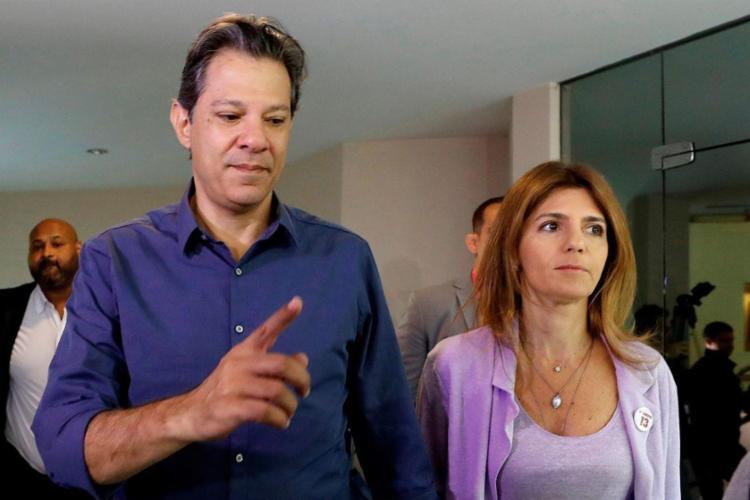 Haddad deve passar os próximos dias com a esposa Ana Estela, que está em férias - Foto: Marcelo Chello | Agência Brasil