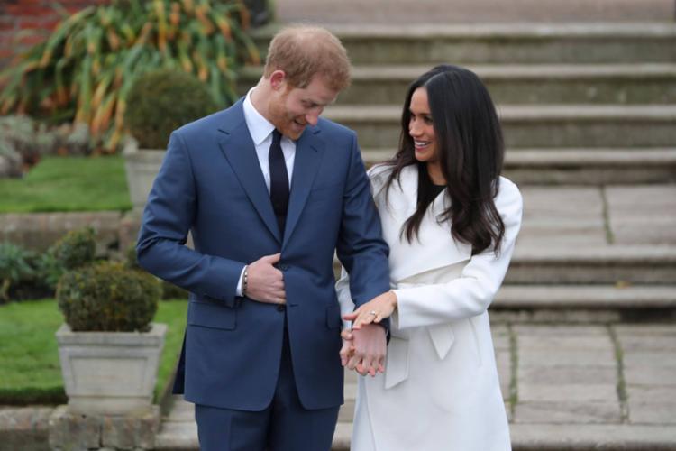Harry, 34 anos, e Meghan, 37, se casaram no dia 19 de maio - Foto: AFP