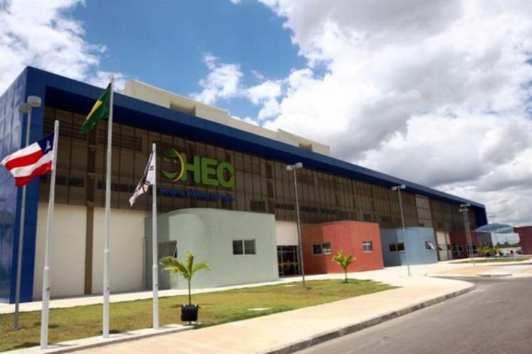 A vítima foi socorrida e encaminhada ao Hospital Estadual da Criança (HEC) mas não resistiu - Foto: Reprodução