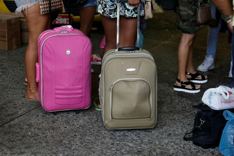 A expectativa é que cerca de 40 mil pessoas passem pelo terminal - Foto: Luciano Carcará   Ag. A TARDE