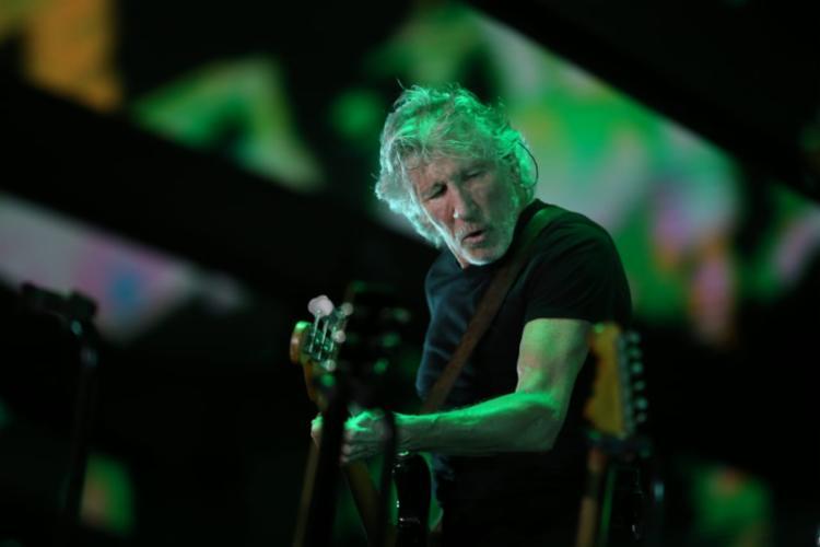 Roger Waters se apresentou na noite desta quarta-feira, 17, na Arena Fonte Nova - Foto: Raul Spinassé   Ag. A TARDE