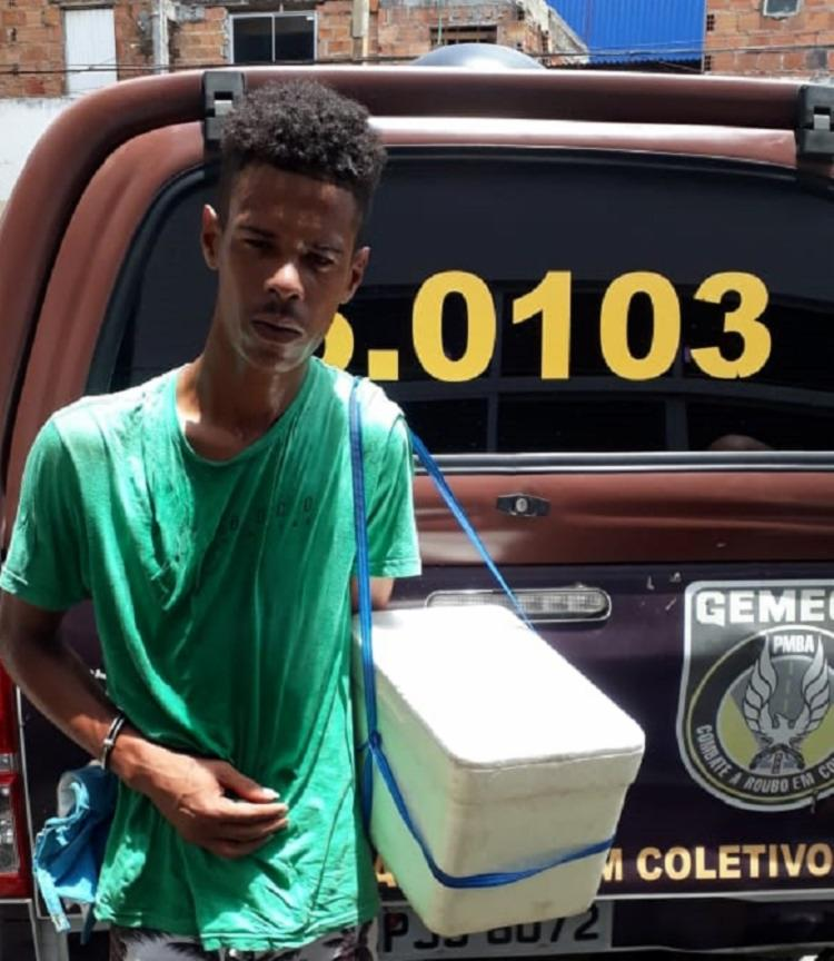 Cleidson dos Santos responde em liberdade provisória por crime de roubo. - Foto: Divulgação| SSP-BA