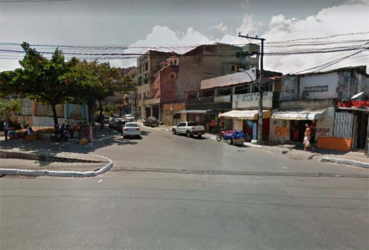 Crime ocorreu na rua do Horto, entre a avenida San Martin e Fazenda Grande do Retiro - Foto: Reprodução | Google Maps