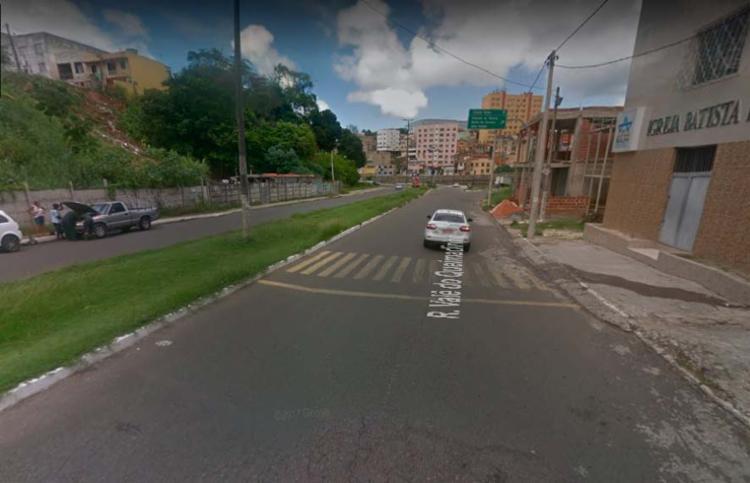 Acidente aconteceu rua Vale do Queimadinho, no Caixa D' Água, próximo à Via Expressa - Foto: Reprodução | Google Maps