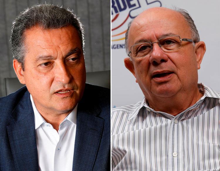 Dos votos válidos, Rui Costa tem 72% e José Ronaldo alcança 21% - Foto: Margarida Neide   Ag. A TARDE