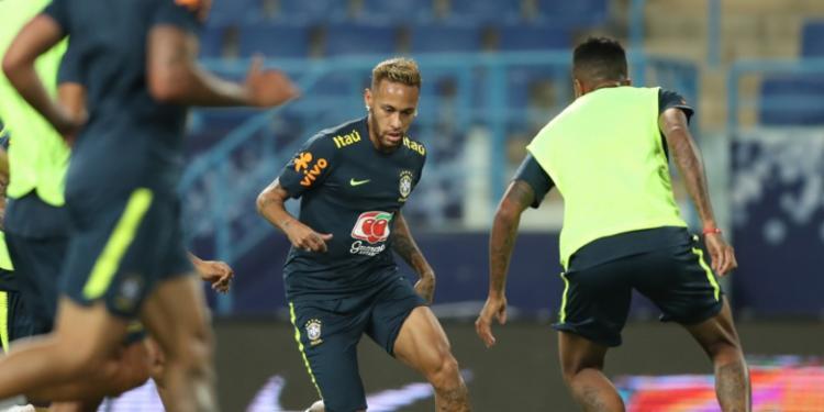 Brasil de Neymar voltará ao laboratório de testes no amistoso desta sexta-feira - Foto: Lucas Figueiredo | CBF