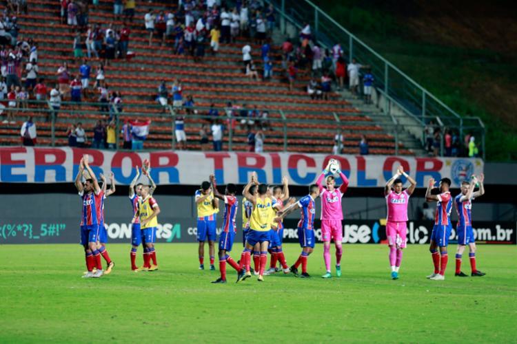 Bahia irá enfrentar o Atlético Paranaense nesta quarta-feira - Foto: Felipe Oliveira | EC Bahia