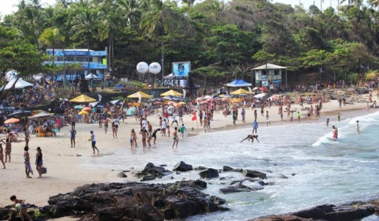 A movimentação na Costa do Cacau é intensa, com estimativa de ocupação da rede hoteleira em 100% - Foto: Divulgação/PMI