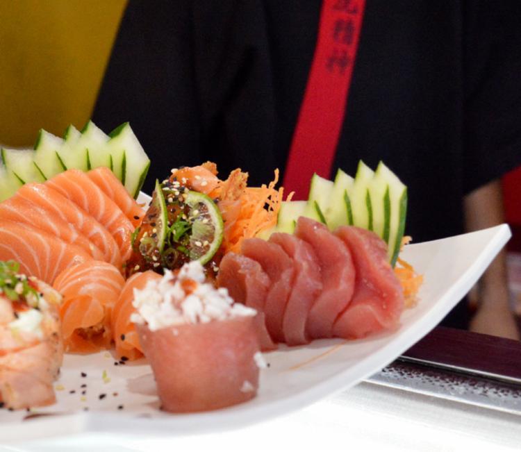 Pratos que levarem arroz em seus ingredientes, terão ele na cor rosa - Foto: Divulgação