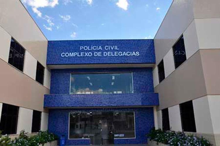 O homem que não teve a identidade revelada foi encaminhado para Complexo de Delegacias - Foto: Reprodução   Google