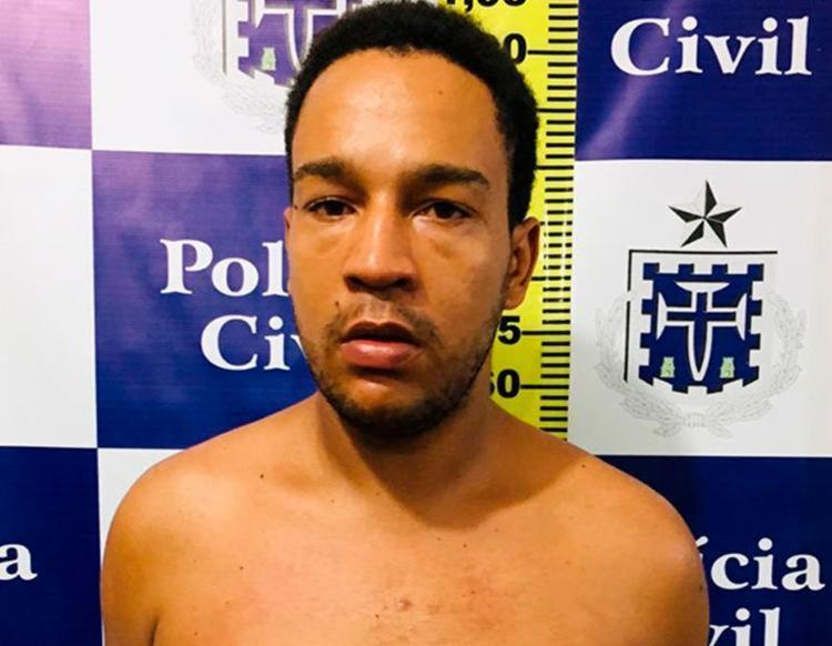 Além de participação no homicídio, Marcus é suspeito de cometer furtos em Feira - Foto: Divulgação   Polícia Civil