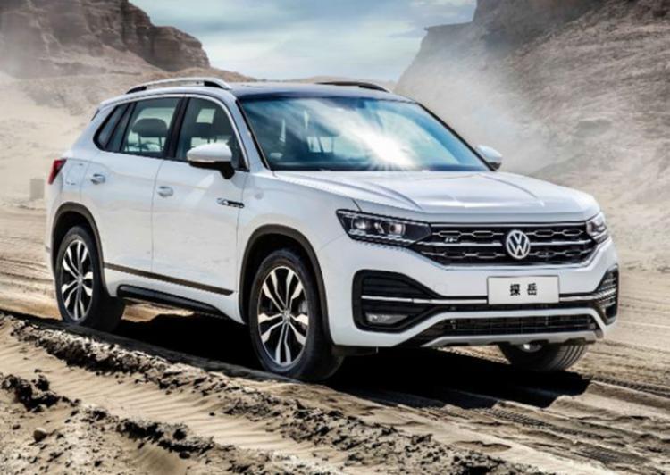 O Volkswagen Tayron será comercializado somente com cinco lugares - Foto: Divulgação