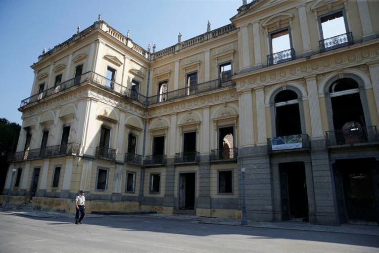 A expectativa é de que os recursos permitam reabrir o museu em no mínimo três anos - Foto: Tomaz Silva | Agência Brasil