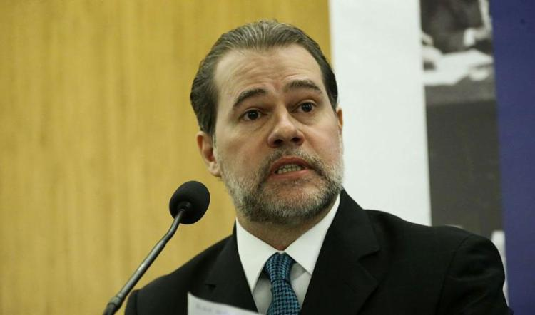 Presidente do STF se manifestou após fala de Eduardo Bolsonaro sobre fechar STF - Foto: Antonio Cruz l Agência Brasil