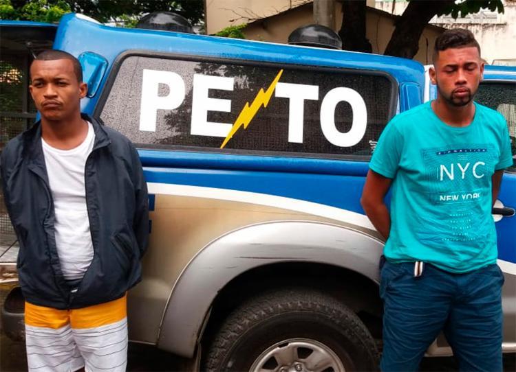 Ambos possuíam passagens pela polícia por agressão a mulher, tráfico de drogas e assaltos a coletivos - Foto: Divulgação | SSP-BA