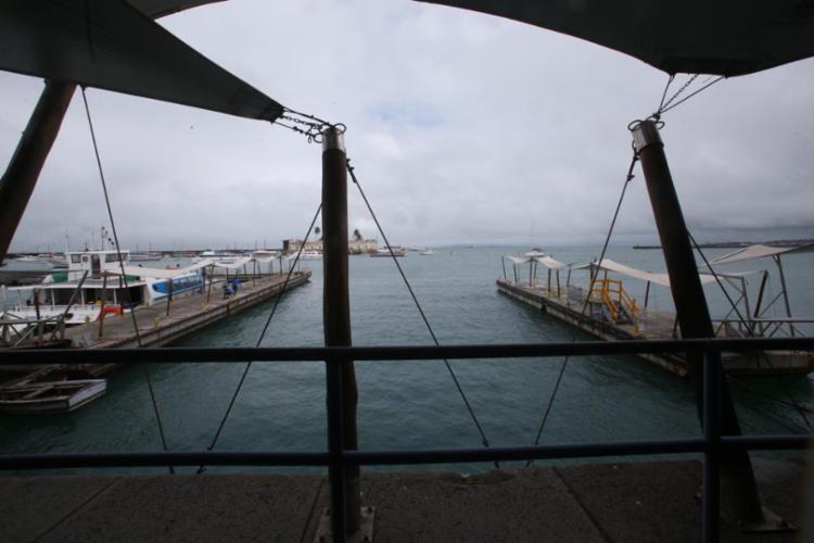 Sistema só retoma o funcionamento após o período de maré baixa, às 11h30 - Foto: Margarida Neide   Ag. A TARDE