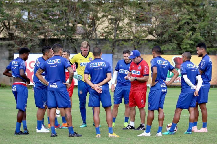 O Tricolor recebe Furacão nesta quarta-feira, 24, para abrir boa vantagem no jogo de quartas de final - Foto: Felipe Oliveira l EC Bahia